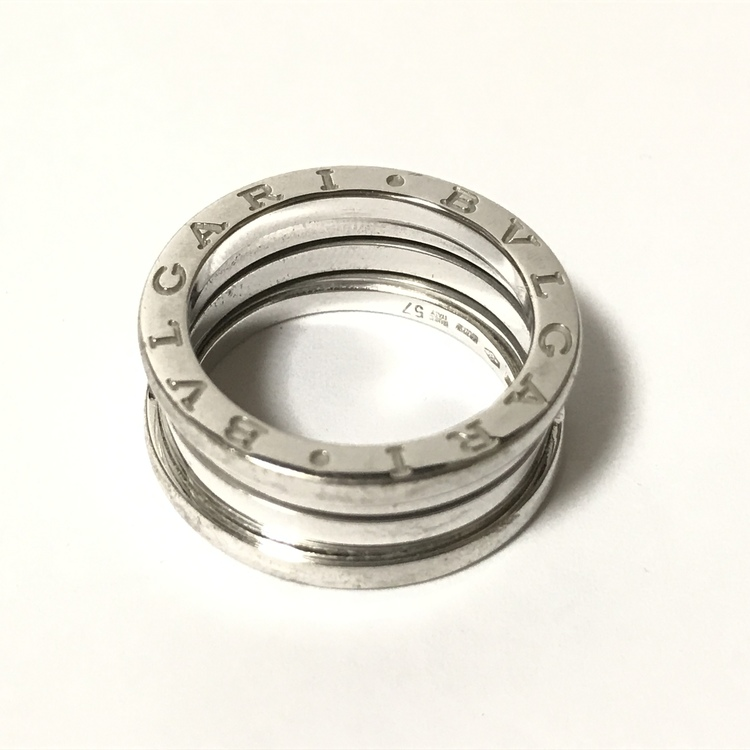 finest selection 409f4 e7590 BVLGARI ブルガリ リング 指輪 ビーゼロワン 18金 k18 ホワイト ...